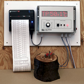 Wood moisture and temperature meter PWT-8FIT
