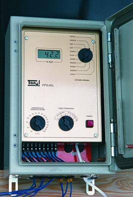 Układ do pomiaru wilgotności i temperatury w suszarniach PPS-60